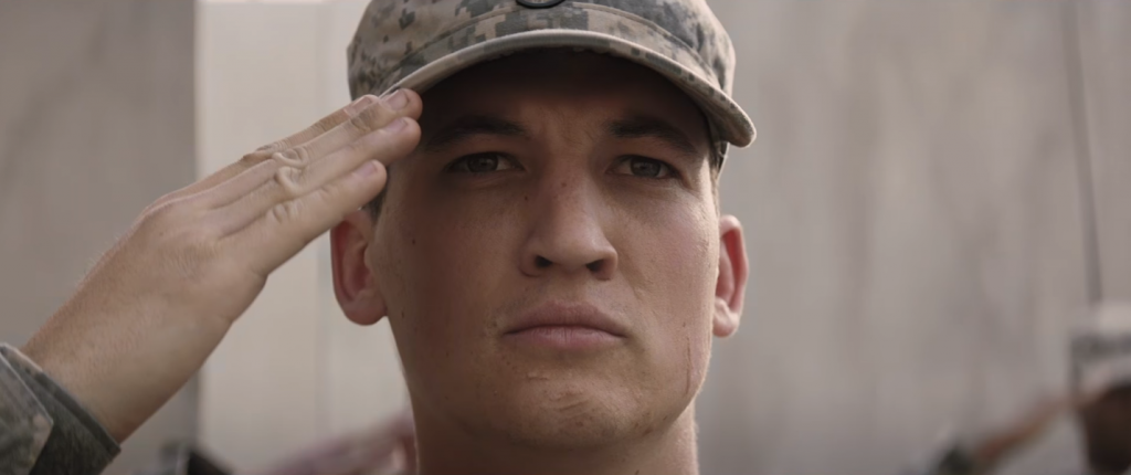"Miles Teller lida com os traumas da guerra no trailer de ""Thank You For Your Service"""